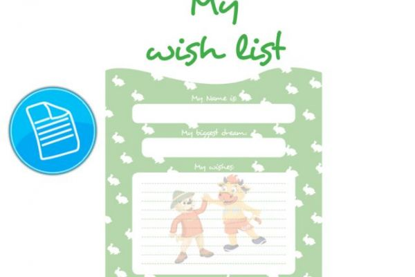 Special – wish-list easter blue-green-red